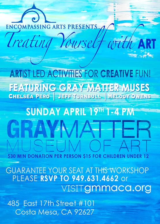 gray matter museum of art, local event, art workshop