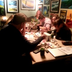 art paint night, social painting and canvas party, local art event Tuesday Night